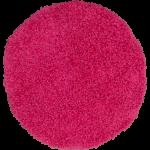 Runder Teppich Langflor Shaggy Hochflor Teppiche Pink Rund 67 cm AUSVERKAUF