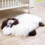 Australisches Lammfell Naturfell Spielteppich Kinderzimmer Dekofell Schaf Weiß