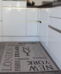 Teppich Sisal Optik in Grau City London, New York Neu*OVP