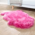 Australisches Lammfell Naturfell Bettvorleger Echtes Schaffell In Pink