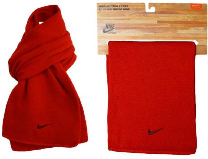 Series Knit Scarf Red