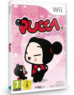 Puccas Race for Kisses Pucca Spiel Kinderspiel Deutsch für Nintendo Wii WiiU U