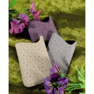 Handy-Sleeve Flower Power Gr. L grau - Vorschau 2