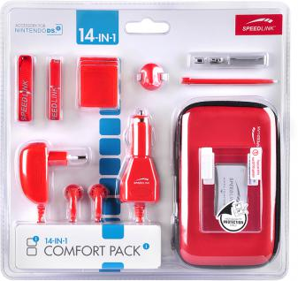 14in1 Comfort Pack metallic rot für DSi