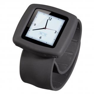 Uhrenarmband Fancy Beat für iPod nano 6G grau - Vorschau 1