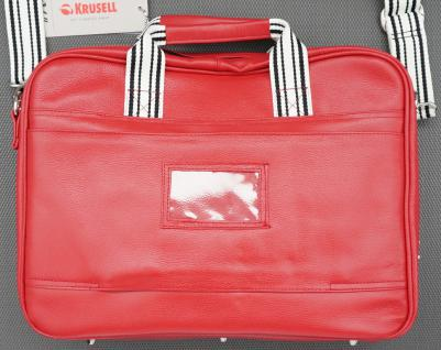 "Breeze Notebookt-Tasche Leder rot bis 16"" - Vorschau 5"