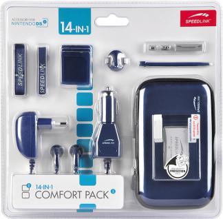 14in1 Comfort Pack metallic blau für DSi