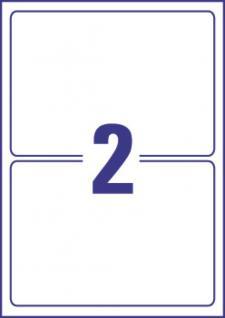 Schilder wetter- und reißfest 190x135mm 20 Stück - Vorschau 3