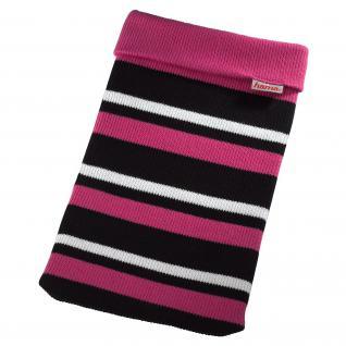 """Netbook-Sleeve Glove bis 26cm (10, 2)pink/schwarz/weiss"""""""