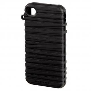 Rubber Band Cover schwarz für iPhone 4/4S - Vorschau 1
