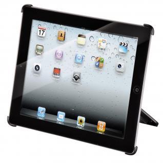 Cover Apple iPad 2-4 schwarz mit 2 Krallen Rasterplattensystem - Vorschau 2