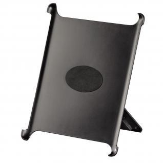 Cover Apple iPad 2-4 schwarz mit 2 Krallen Rasterplattensystem - Vorschau 3