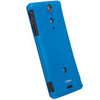 Color-Cover blau Made for XPERIA TX