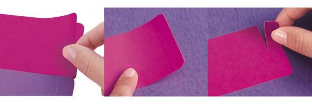 Etiketten-Block im Design Booklet Purple Cicles - Vorschau 4