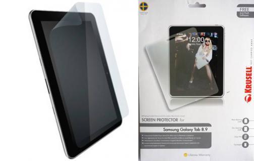 """Schutzfolien-Set für Samsung Galaxy Tab 8, 9"""" - Vorschau 3"""