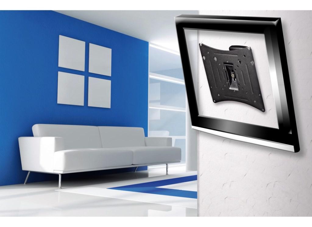 tv wandhalterung motion m ultraslim bis 37 kaufen bei koka handelsgesellschaft mbh. Black Bedroom Furniture Sets. Home Design Ideas