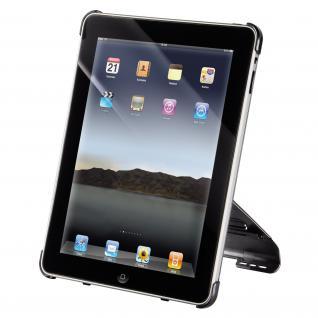 Cover Apple iPad schwarz mit 2 Krallen Rasterplattensystem