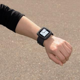 Uhrenarmband Fancy Beat für iPod nano 6G grau - Vorschau 5