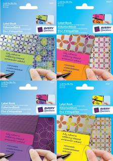 Etiketten-Block im Design Booklet Purple Cicles - Vorschau 3