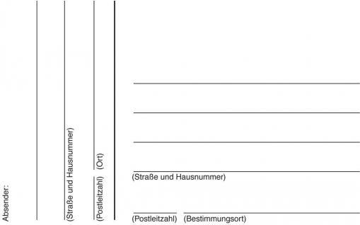 Adress-Etiketten breit weiss 113x73mm 8 Etiketten - Vorschau 2