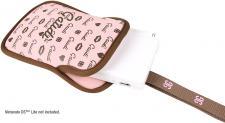 Tasche pink/braun für Nintendo