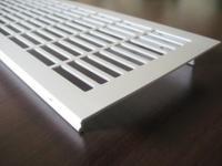 Lüftungsgitter Aluminium Silber 250 x 110 mm