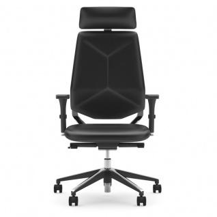 Edler Design Chefsessel Next U GTP Softleder schwarz
