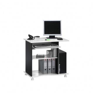 Computertisch 4024, mit Tonnenprofil vers. Farben 80 x 75 x 50 cm
