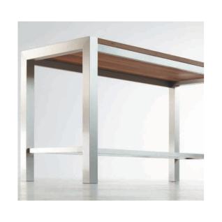 edler hochtisch stehtisch ht20 195 x 85 x 107 cm kaufen bei hohners shop. Black Bedroom Furniture Sets. Home Design Ideas