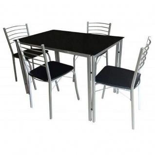 Tisch 110 70 g nstig sicher kaufen bei yatego for Esstischstuhl schwarz