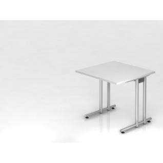 Lochblech wei g nstig sicher kaufen bei yatego for Schreibtisch 80x80