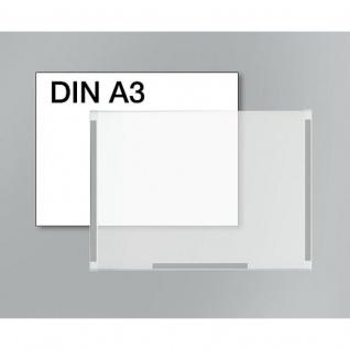 Plakattasche DIN A 3 für Info Ständer breit