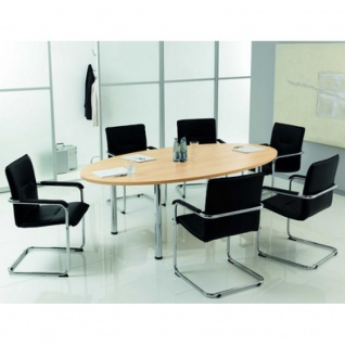 Konferenztisch CONTACT, oval, Office