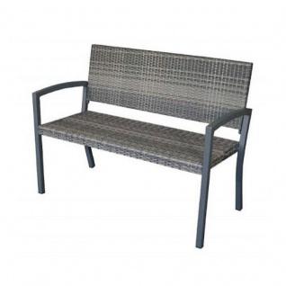 gartenbank 2 sitzer polyrattan bestellen bei yatego. Black Bedroom Furniture Sets. Home Design Ideas