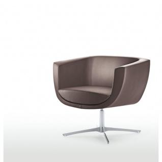 Design Lounge Sessel Mehrzwecksessel Koppa 4-Fußkreuz