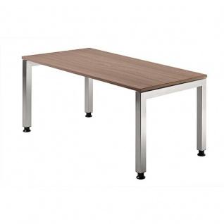 Büro Schreibtisch 160x80 cm Modell JS16 stufenlos höheneinstellbar