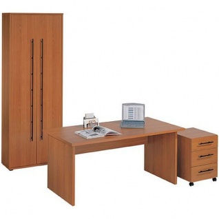 schreibtisch schrank kombination g nstig bei yatego. Black Bedroom Furniture Sets. Home Design Ideas