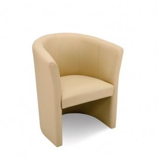 Lounger Sessel Club Kunstleder vollgepolstert
