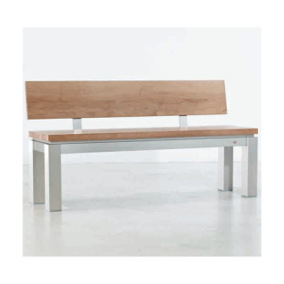 edle esszimmerbank bank b120 mit r ckenlehne 150 x 48 x 79 5 cm. Black Bedroom Furniture Sets. Home Design Ideas