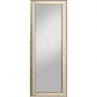 Rahmenspiegel Alino silber glänzend 62 x 162 cm