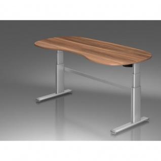 schreibtisch nierenform online bestellen bei yatego. Black Bedroom Furniture Sets. Home Design Ideas