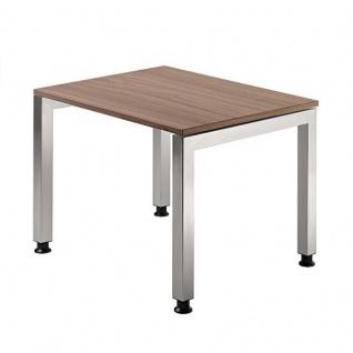 Büro Schreibtisch 80x80 cm Modell JS08 stufenlos höheneinstellbar