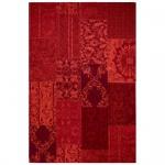 Teppich Wohnteppich My Mersey 1150, Patchwork-Optik, rot