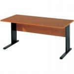 Schreibtisch BÜRO COMBI+ 1, 1.600 mm C-Fußgestell schwarz
