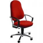 Bürodrehstuhl Point 50 rot inkl. Armlehnen