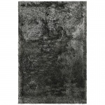 Teppich Wohnteppich Hochflorteppich My Liesbeek 1110, handgefertigt, grau