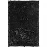 Teppich Wohnteppich Hochflorteppich My Liesbeek 1110, handgefertigt, schwarz