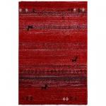 Teppich Wohnteppich Designteppich My Gamtoos, rubinrot