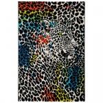 Teppich Wohnteppich My Mackenzie 1130, multicolor, Motiv: Leopard