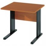 Schreibtisch BÜRO COMBI+ 1, 800 mm C-Fußgestell Schwarz